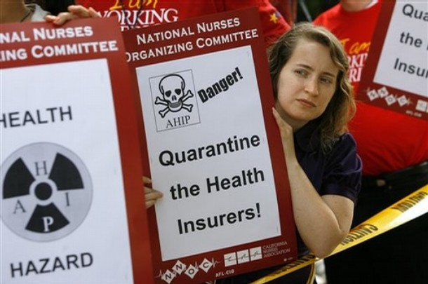 Health Insurance Protest