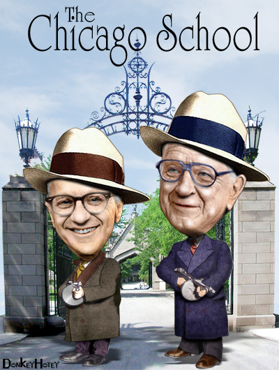 Milton Friedman & Arnold Harberger [c. 1970]