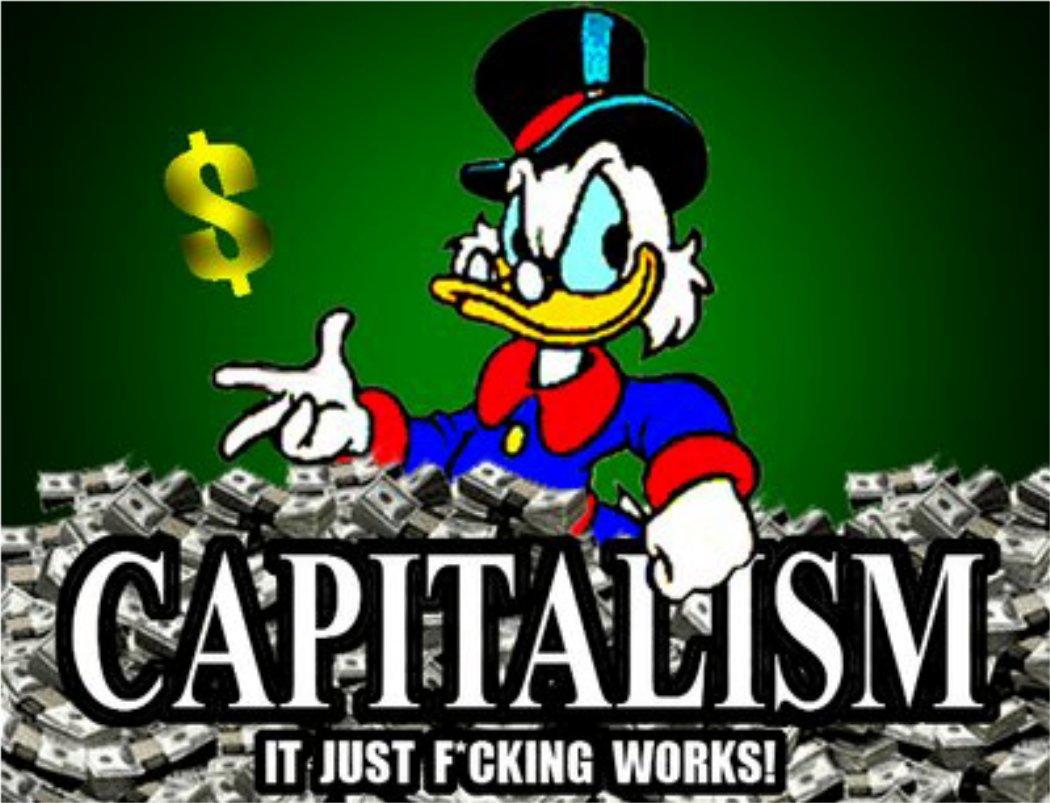 """El Capitalismo es mejor que el """"socialismo"""" cortita la bocha"""
