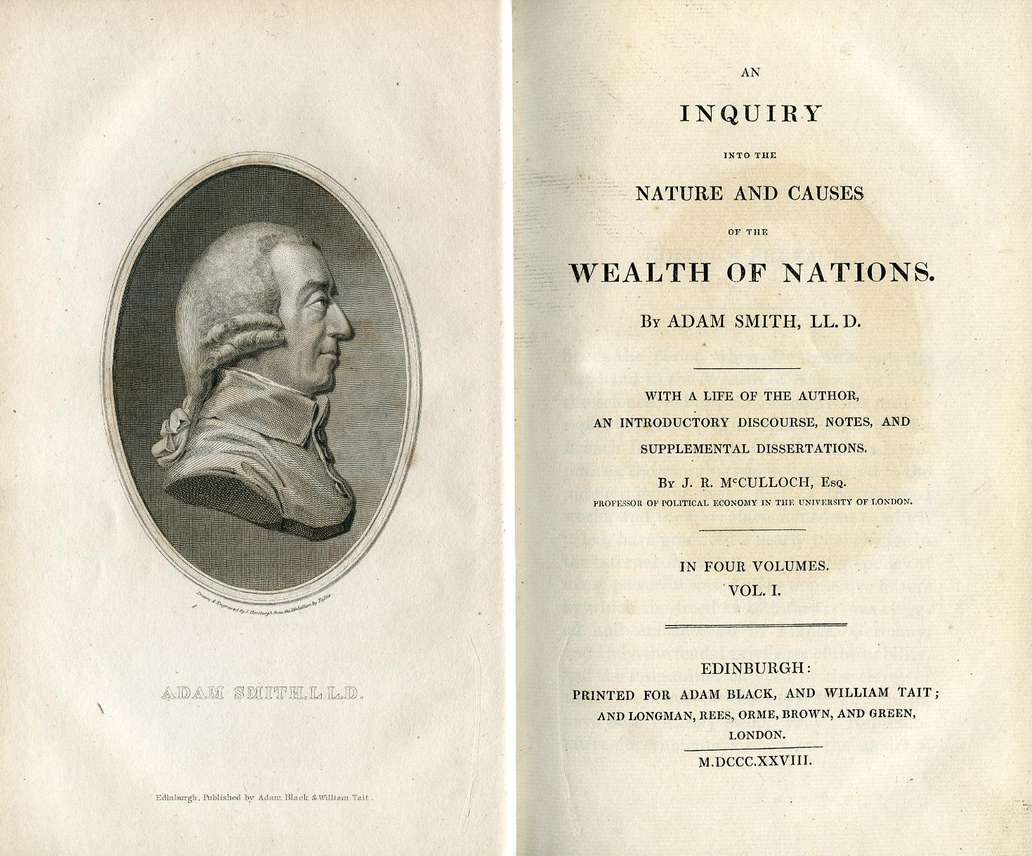 the idea behind adam smiths the wealth of nations