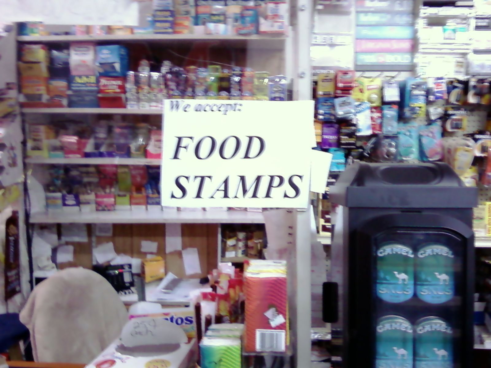 How Many Americans On Food Stamps Percentage