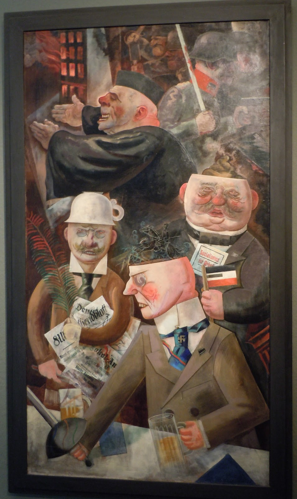 george grosz dada George grosz, german, 1893—1959 eclipse of the sun, 1926 oil on canvas heckscher museum of art, museum purchase the almighty american dollar brands the moon as it blacks out the sun in this surrealist- and dada-influenced painting by the german artist george grosz here, the eclipse becomes a sign of.