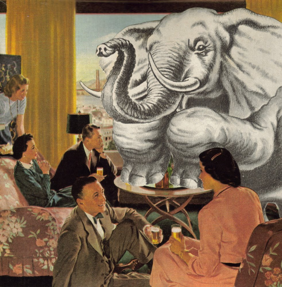 Ignoring the elephant in the room   occasional links & commentary