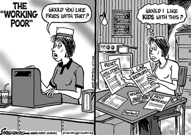 Working-age poor or poor working-class Poor Children Working
