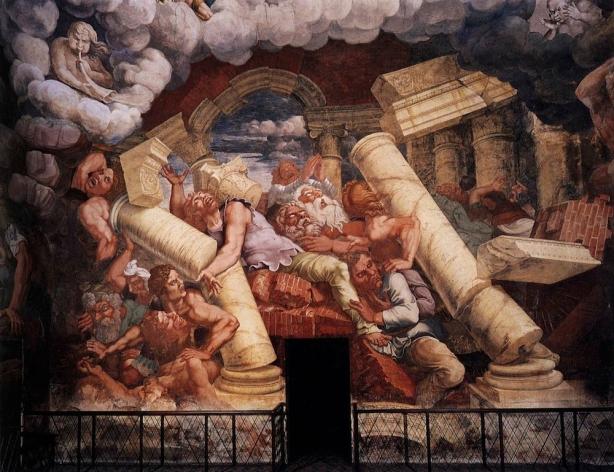 """Giulio Romano, """"La caduta di Giganti"""""""