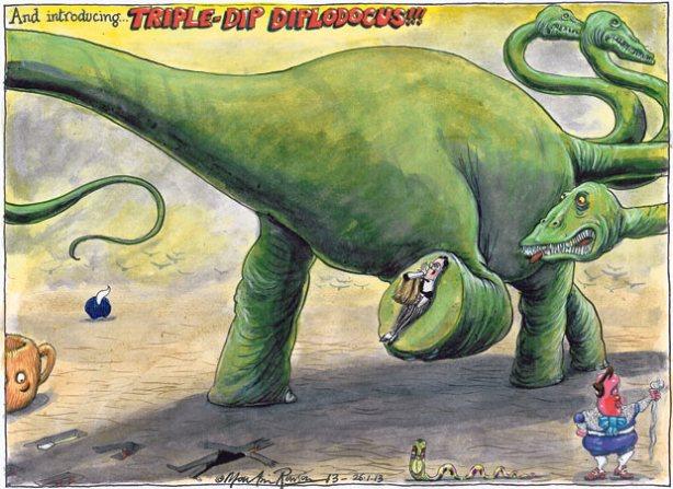 Martin Rowson cartoon, 26.01.2013