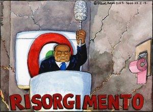26.02.13: Steve Bell on the Italian election