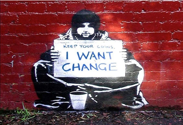 Banksy-change