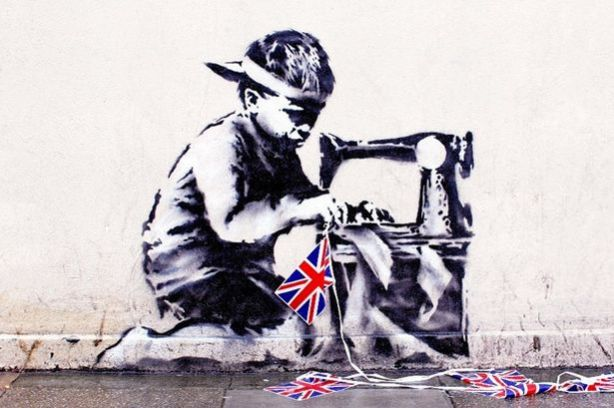 Slave+Labor+(Bunting+Boy),+London,+2012
