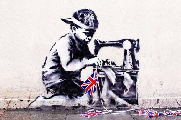 Slave+Labor+(Bunting+Boy),+London,+2012