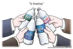 Fracking-Toast