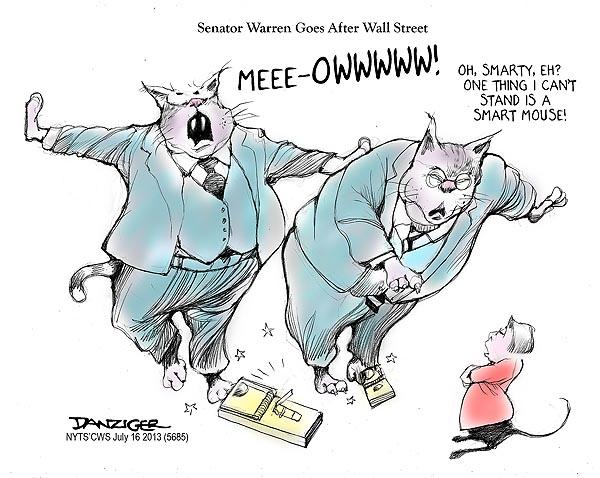 Elizabeth Warren Wall Street