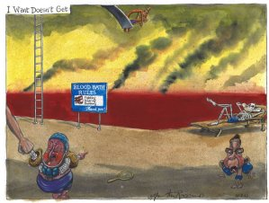 Martin Rowson cartoon 31.08.2013