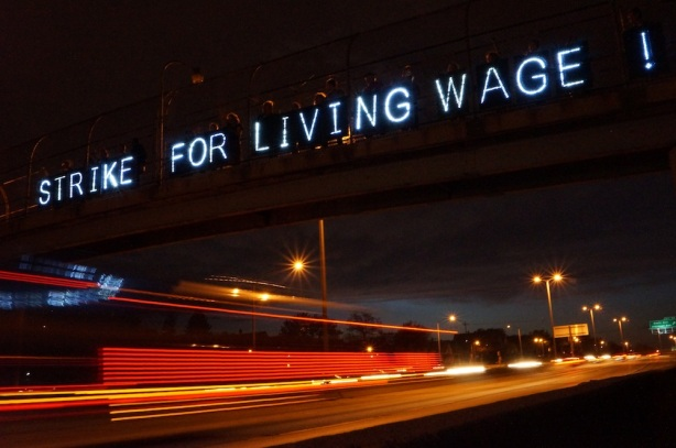 Strike-For-Living-Wage