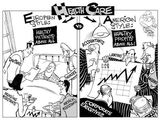 health-care-american-vs-european-style-cartoon