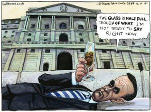 14.11.13: Steve Bell on the Bank of England's latest economic forecasts