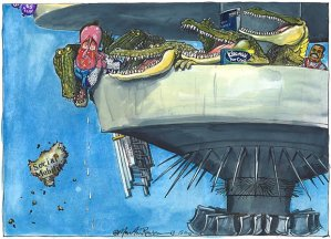 Martin Rowson cartoon 15.11.2013