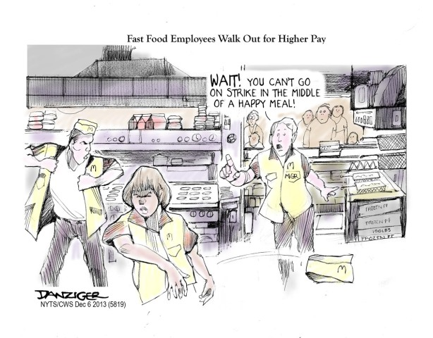 Fast Food Walkout