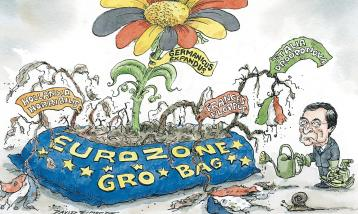 David Simonds cartoon on eurozone recovery