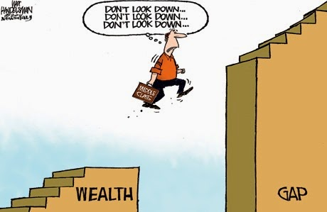 Wealth Gap cartoon-8x6