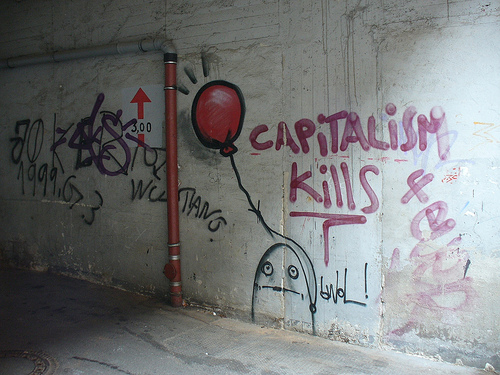 capitalism kills by Metro Centri