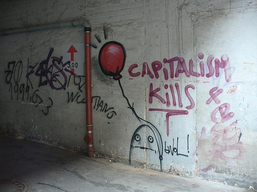 capitalism kills by Metro Centri