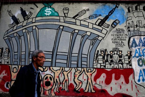 Brazil WCup Soccer Murals