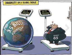 Global Inequality Cartoon