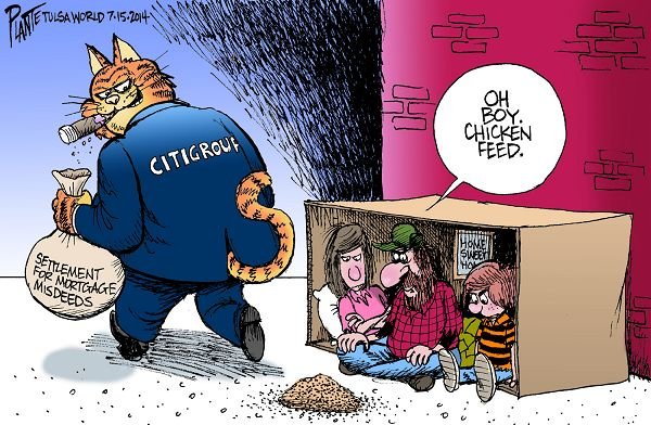 Citigroup and Justice