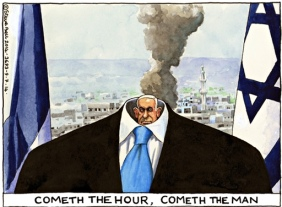 Steve Bell cartoon 9/7/14