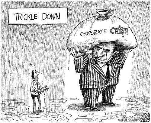 Trickle-Down-Economy