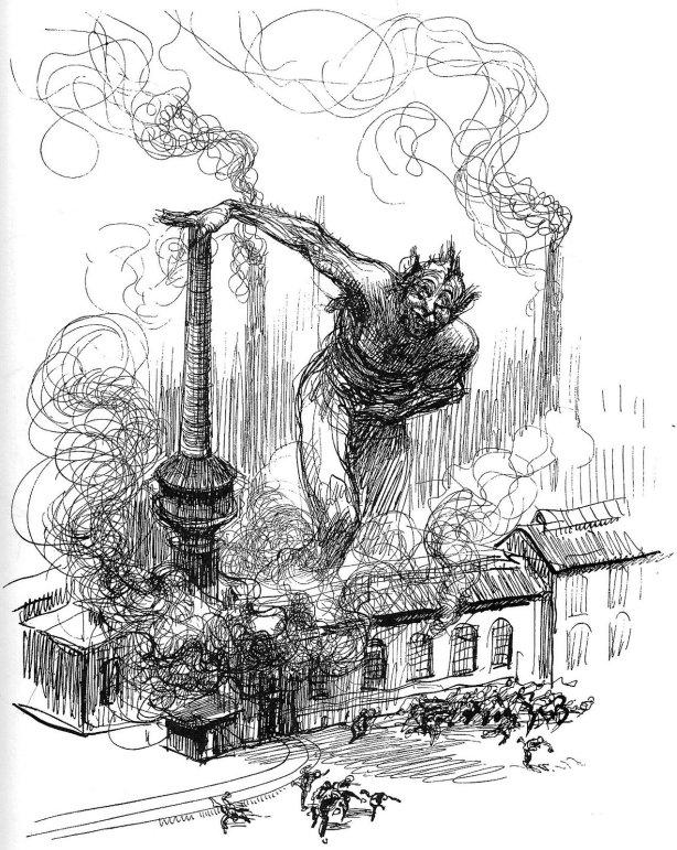 """Heinrich Kley, """"Sabotage"""" (Betriebsstorung)"""