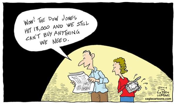 18,000, Dow Jones