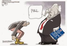bootstraps cartoon