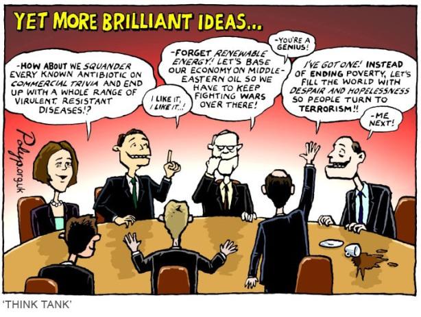 polyp_cartoon_Corporate_Think_Tank
