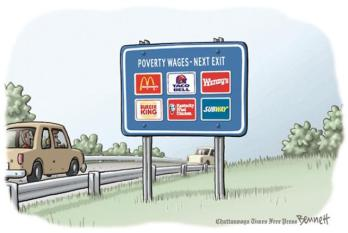 Poverty-Wages