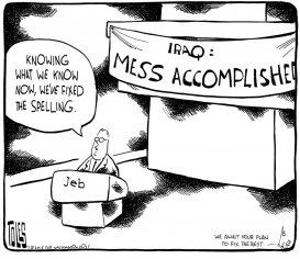 Toles-Iraq
