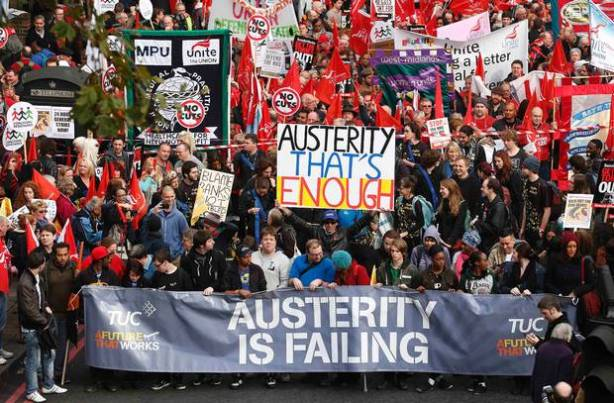 Austerity march