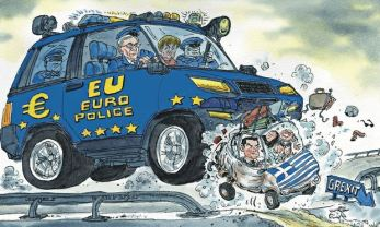 David Simonds Grexit cartoon 14.06.15