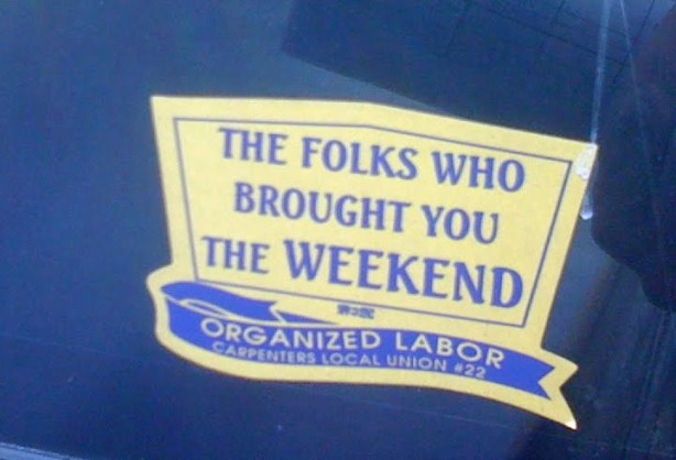folks who brought weekend-labor
