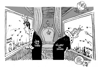 bush-clinton-dethroning-otherwords-cartoon
