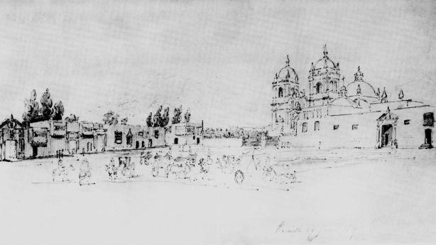 Plaza_de_armas_en_1839