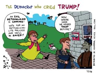 The Democrat Who Cried Trump!