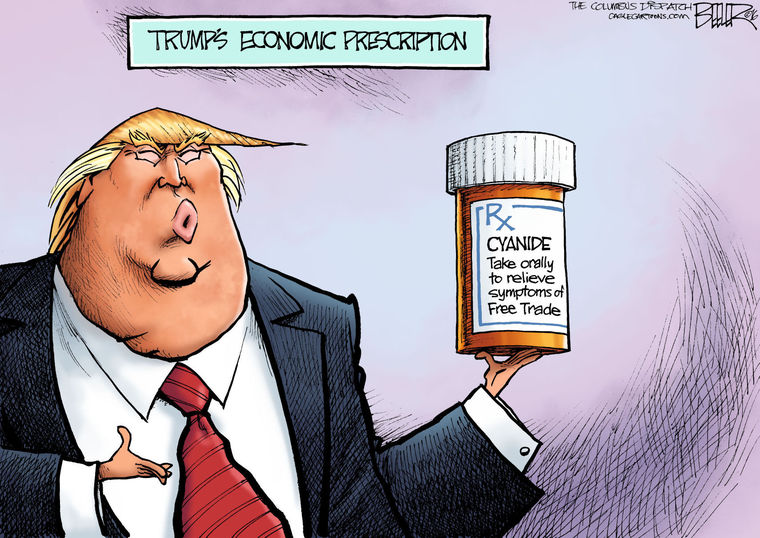Trumping Free Trade Occasional Links Amp Commentary