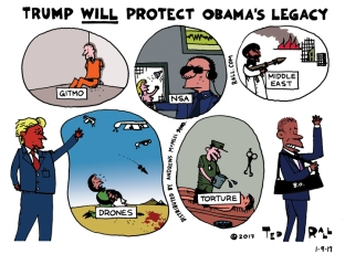 Trump Will Protect Obama's Legacy