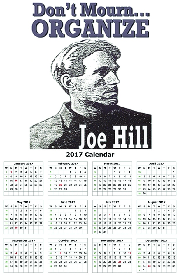 joe-hill-don-t-mourn-organize-2015-calendar11-x-17-27