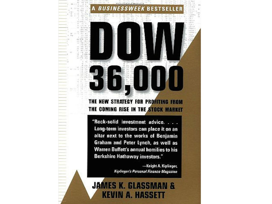 james-glassman-and-kevin-hassetts-1999-book-dow-36000-predicted-that-the-dow-jones-stock-index-would-more-than-triple-in-the-years-ahead-even-now-16-years-later-the-index-is-only-just-halfway-to-36000