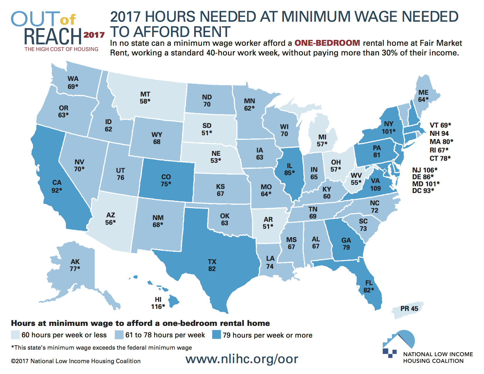 Minimum Wage Occasional Links Commentary - Interactive us peak wage map