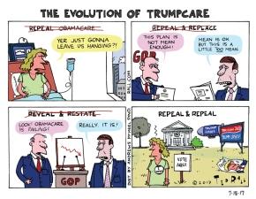 The Evolution of Trumpcare