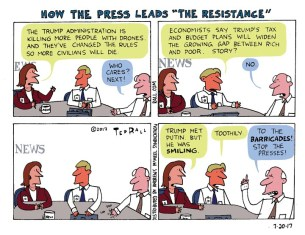 """How the Press Leads """"The Resistance"""""""
